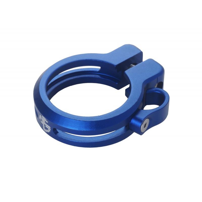 Sattelklemme mit Kabelführung 34.9mm, blau, AKTION Fr. 19.90 statt 39.90_4157