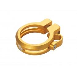 Sattelklemme mit Kabelführung 34.9mm, gold, AKTION Fr. 9.90 statt 39.90_4158