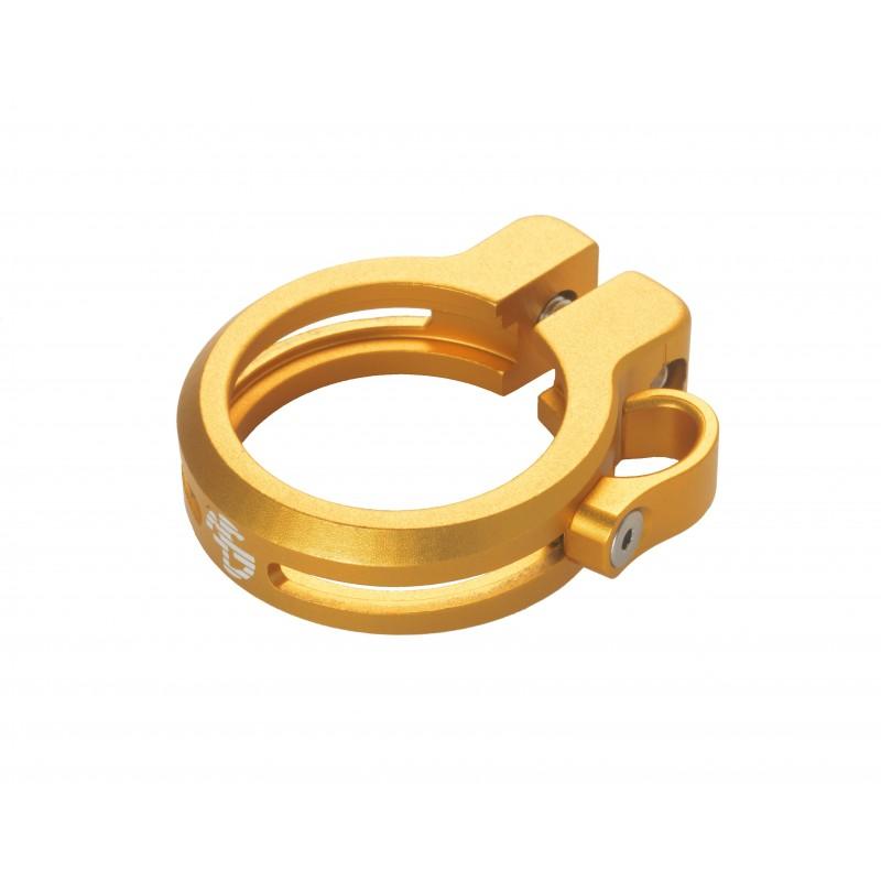 Sattelklemme mit Kabelführung 34.9, gold, AKTION Fr. 24.00 statt 39.90_4158