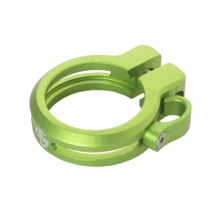 Sattelklemme mit Kabelführung 34.9mm, grün, AKTION Fr. 9.90 statt 39.90_4159
