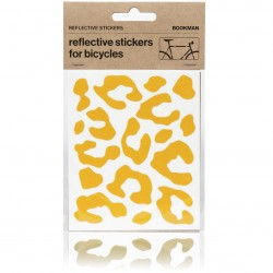 STICKY Leopard Reflectors, Yellow_6219