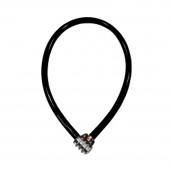 Keeper 665 Combo Cable 6x65cm, Black_6251