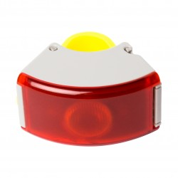 Curve Rear Light 2, Gray/Acid Yellow_6541
