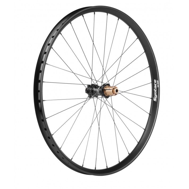 """W28i Straight Rear Wheel 27.5"""", 28 Hole, 148x12mm Evo6 Hub_6735"""