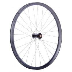 "C33i Straight Front Wheel 29"", Boost 15x110 Hub, IS, black_7214"